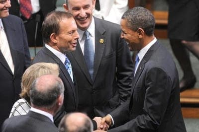 Abbott and Obama