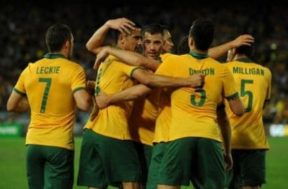 Australia - football FIFA World Cup - where to watch in London