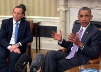 Barack Obama and Tony Abbott 2
