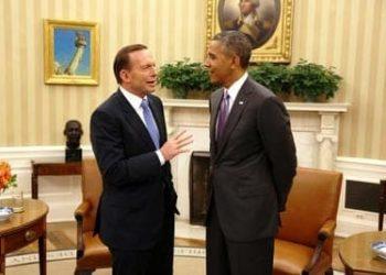 Barack Obama and Tony Abbott