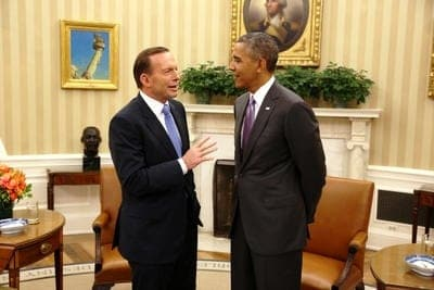 Barack Obama and Tony Abbott