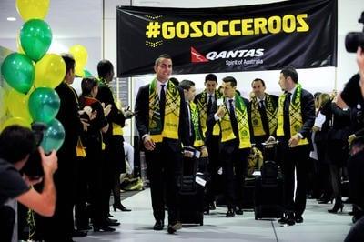 Socceroos-Australia - football-world-cup-2014 - Netherlands