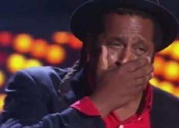 The Voice Australia - Lionel Cole (crying)