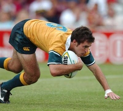 Wallabies Brock James