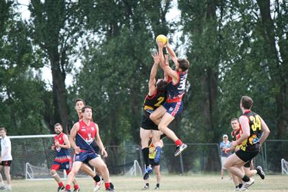 AFL London 2014 - Demons vs Lions