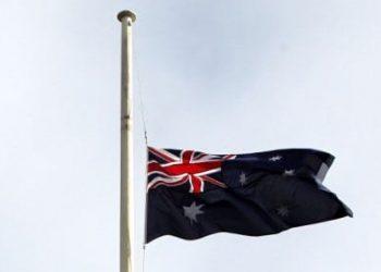 MH17 - Australia flag at half mast