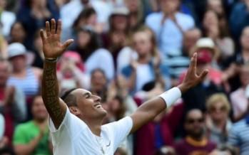 Greats tip Nick Kyrgios to go all the way at Wimbledon
