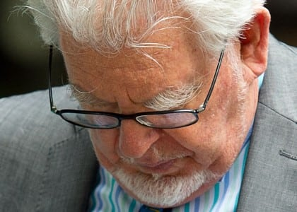 Rolf Harris - guilty verdict