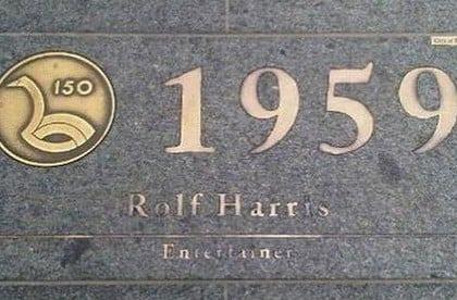 rolf harris plaque
