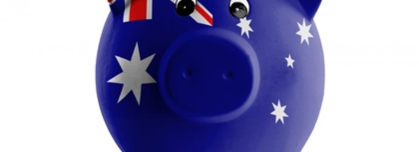 Aussies have fatter piggy banks than their UK mates