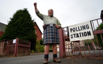 I'm Aussie, but today I'm asked to vote on Scotland's independence