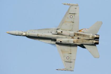 Australia air force FA/18 Hornet