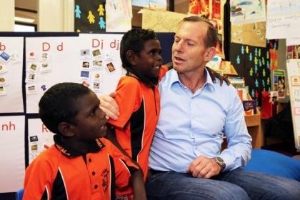 Tony Abbott Arnhem Land