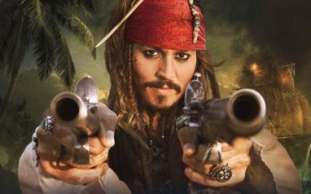Captain Jack Sparrow sailing for Australia