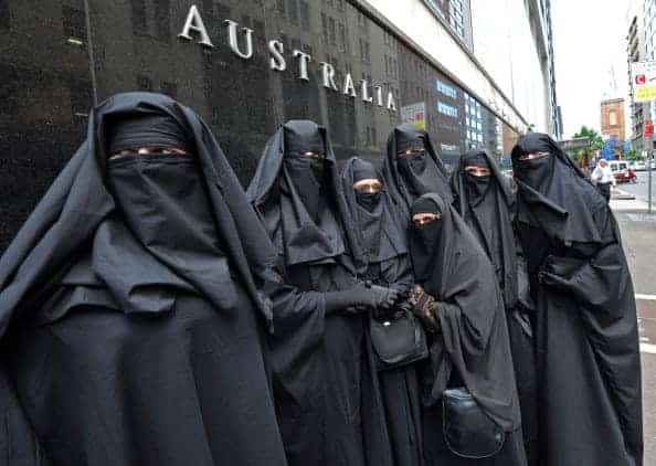 banning of burqa A controversial burqa ban passed by the french parliament last year will go into effect monday, making the traditionally secular country the first in the european union to ban the wearing of the head-to-toe islamic covering.