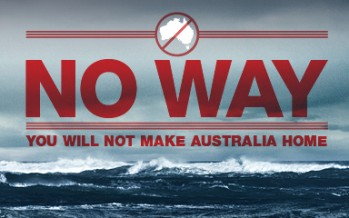 'No Way' asylum posters draw criticism