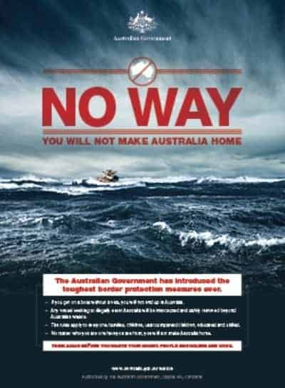 Australia immigration - no-way-X