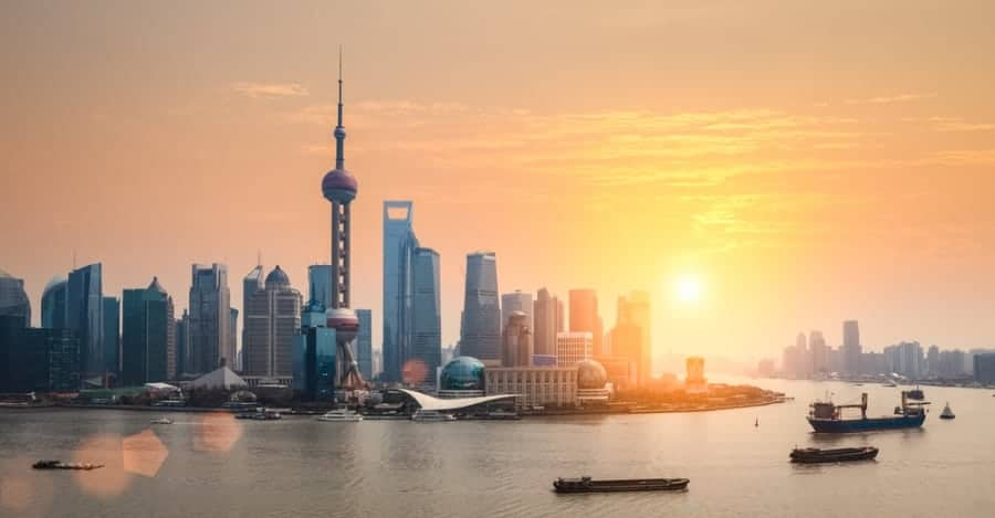 Shanghai - China - shutterstock_177687800