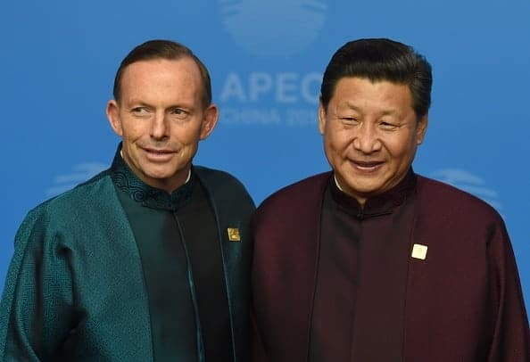 CHINA-APEC-SUMMIT - silly shirts