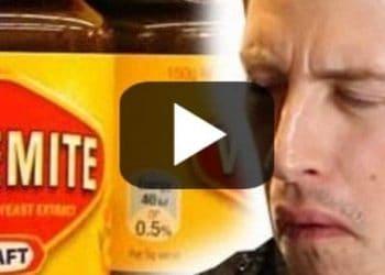 Australia food snacks - American taste test - video