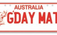 Australian slang dictionary (G-Q)