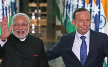 Modi declares India the answer to Australia's call for opportunity