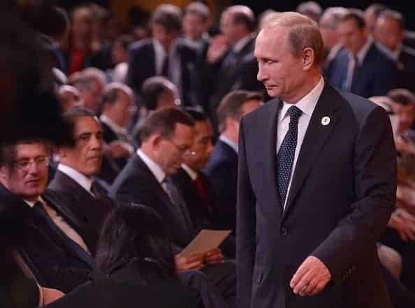 Putin - G20 - Getty