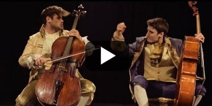 2cellos thunderstruck video