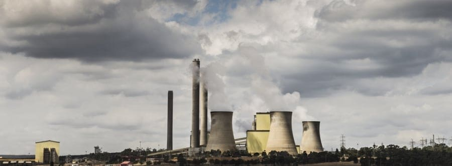 Australia power station - carbon emissions - shutterstock_179246615