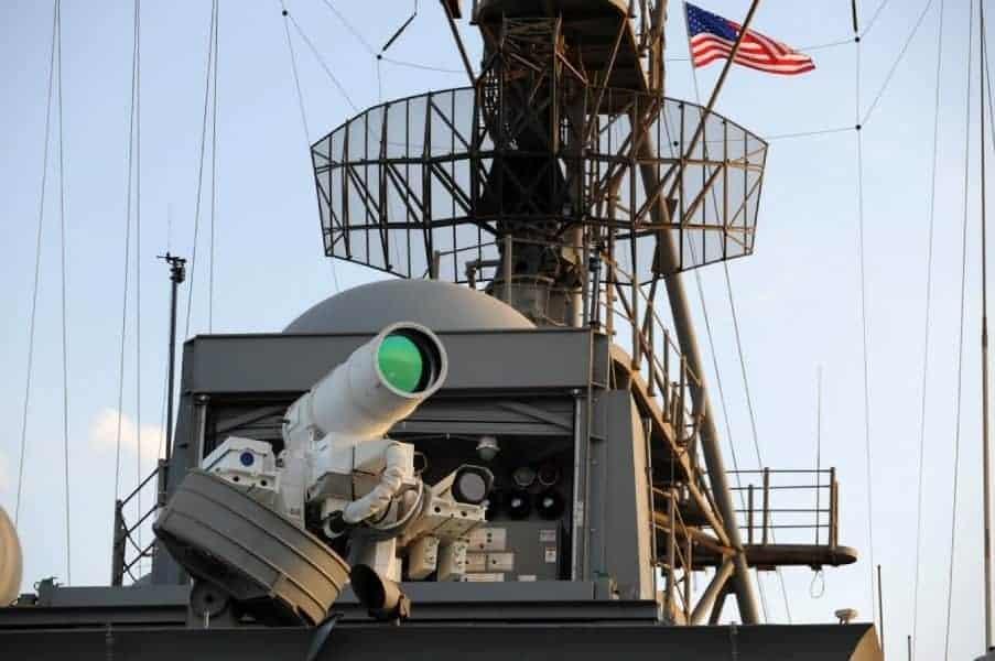 LaWS laser gun US Navy 1