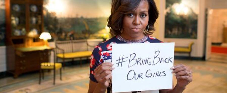 Michelle Obama Twitter - girls