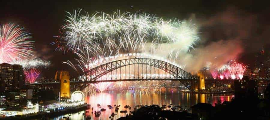 New Year's Eve on Sydney Harbour