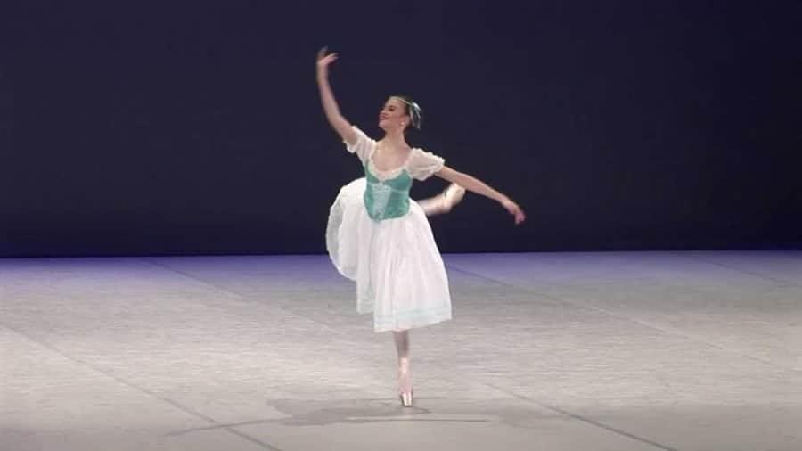 Sophie Moffatt, ballerina.