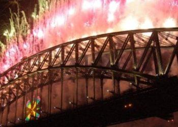 Sydney fireworks New Year 's Eve
