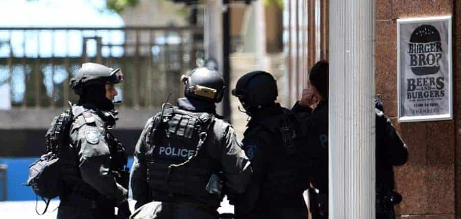 Sydney siege - Getty 460474340
