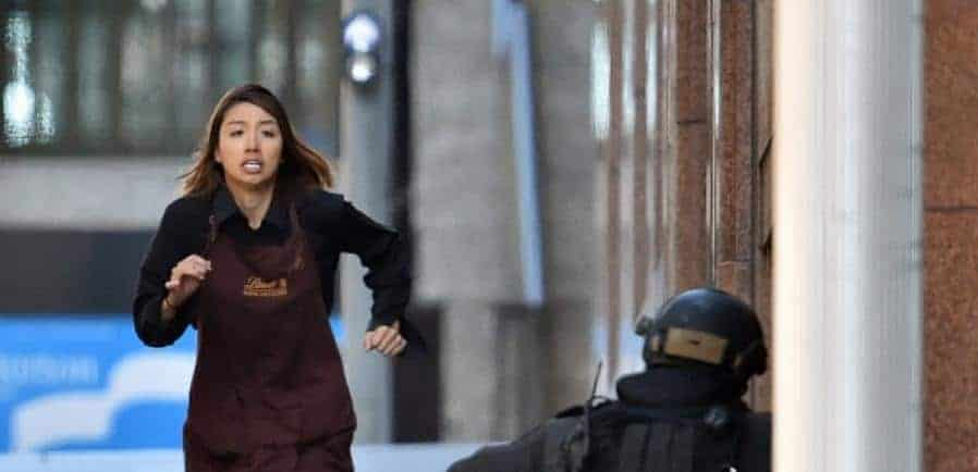 Sydney siege - hostage free - Getty 460481846