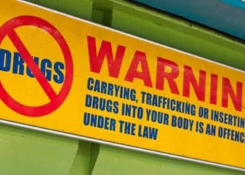 drugs law - Malaysia airport - shutterstock_137375054