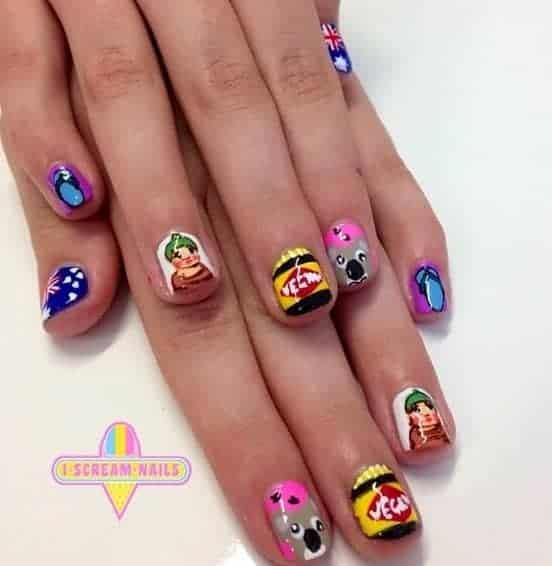 AUSSIE nail polish
