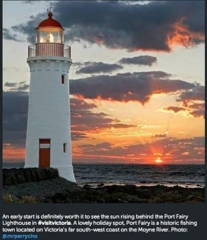 Aus lighthouse