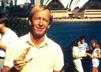 Australia - Paul Hogan - Shrimp on the barbie advert stereotype