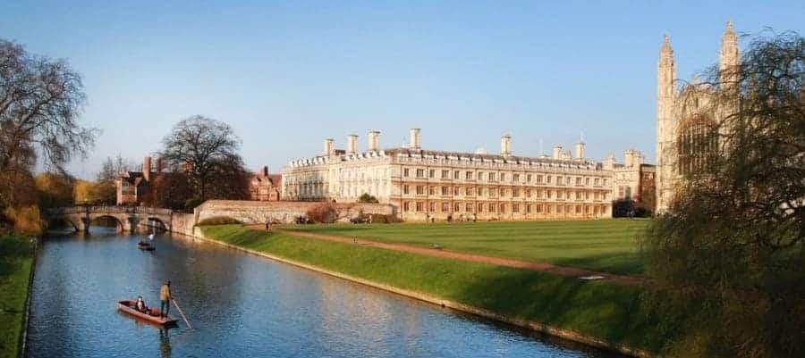 Cambridge University - Britain - shutterstock_73411381