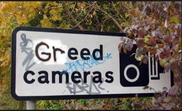 Greed cameras