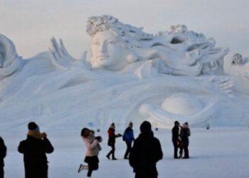 Ice Sculpture, China
