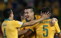 Socceroos into Asian Cup final with 2-0 victory
