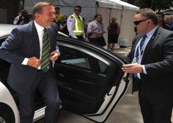 Tony Abbott BMW