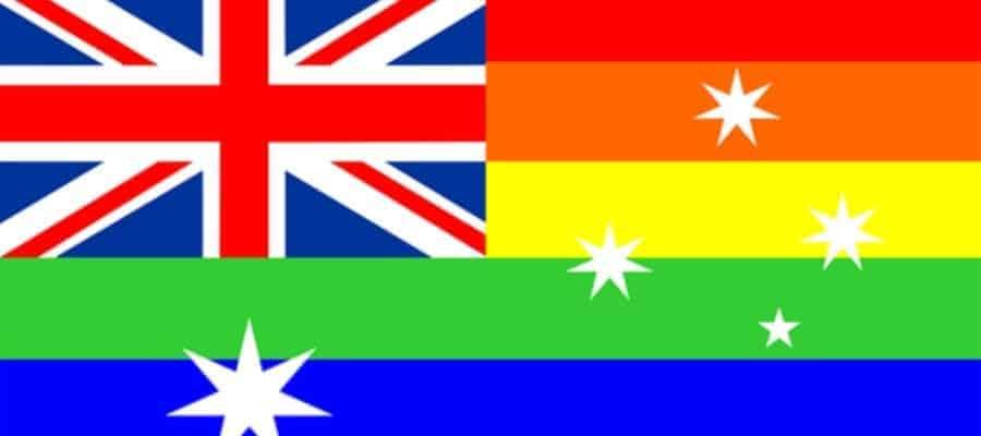 Australia flag - gay