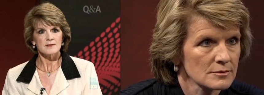Julie Bishop's best ballbusting death stares