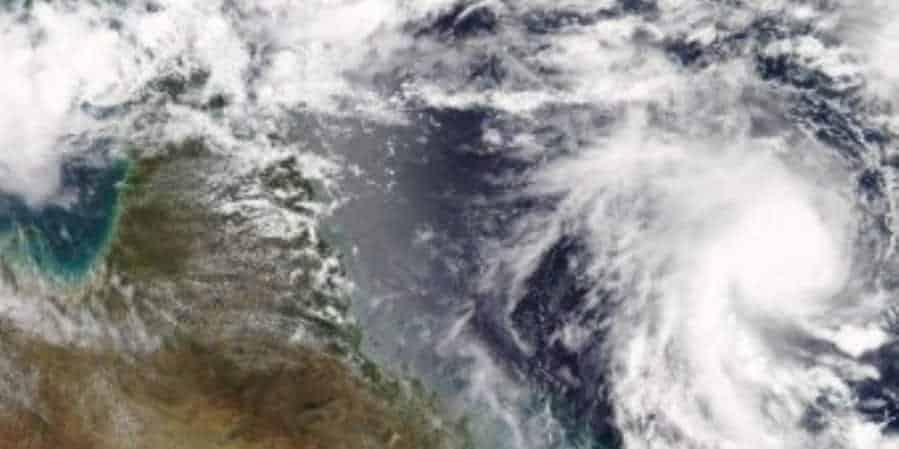 Cyclone Marcia - Australia - satellite map