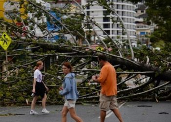 Cyclone Marcia - Yeppoon - Australia