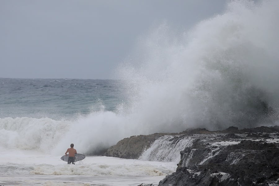 Snapper Rocks, Gold Coast  Chris Hyde/Getty Images